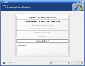 Intégration d'Internet Explorer 7