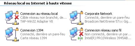 Connexion OpenVPN